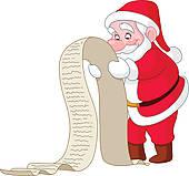 Santa list clipart vector transparent stock Santa list Clip Art EPS Images. 694 santa list clipart vector ... vector transparent stock