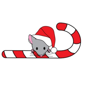 Santa mouse clipart clip art royalty free library Free Free Mouse Clip Art Image 0515-0911-2800-4419 ... clip art royalty free library