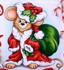 Santa mouse clipart jpg black and white Christmas Mouse #clipart #holiday #holidayclipart #christmas ... jpg black and white