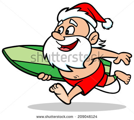 Santa on a surfboard clipart clipart free download Surfing santa free vector free vector download (1,020 Free vector ... clipart free download