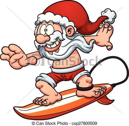 Santa on a surfboard clipart free download Santa on a surfboard clipart - ClipartFest free download