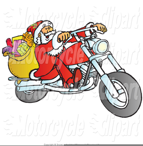 Santa on harley clipart image royalty free Harley Clipart | Free Images at Clker.com - vector clip art ... image royalty free