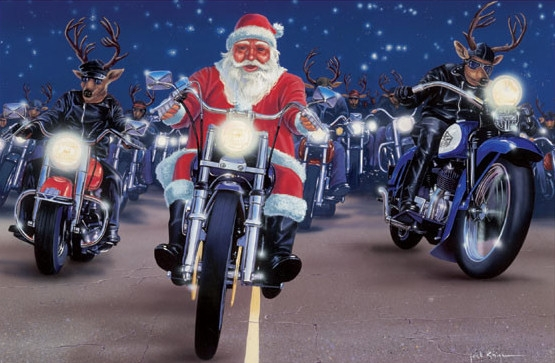Santa on harley clipart banner royalty free download Free Christmas Motorcycle Cliparts, Download Free Clip Art ... banner royalty free download