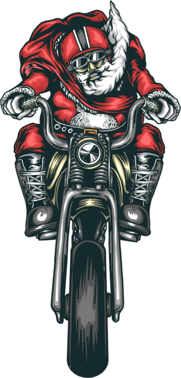 Santa on harley clipart jpg free download Armour,Motor Vehicle,Fictional Character Vector Clipart ... jpg free download