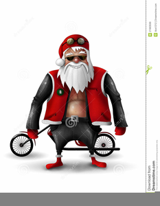 Santa on harley clipart svg freeuse stock Santa On A Harley Clipart | Free Images at Clker.com ... svg freeuse stock