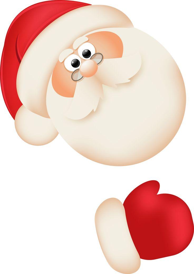 Santa peeking clipart clip art royalty free download Free Santa Claus Clipart, Download Free Clip Art, Free Clip ... clip art royalty free download
