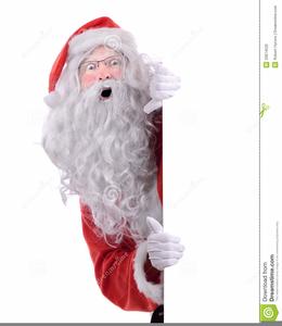 Santa peeking clipart free stock Santa Peeking Clipart | Free Images at Clker.com - vector ... free stock