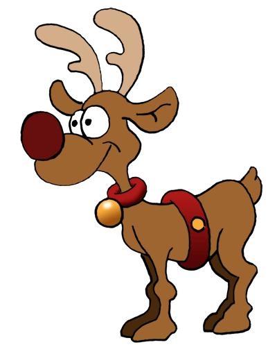 Santa reindeer clipart free svg black and white library Free Santa Reindeer Cliparts, Download Free Clip Art, Free ... svg black and white library