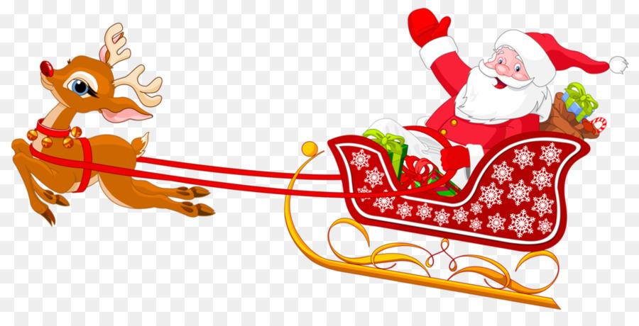 Santa s slay clipart banner royalty free library Santa Claus Cartoon png download - 1024*508 - Free ... banner royalty free library