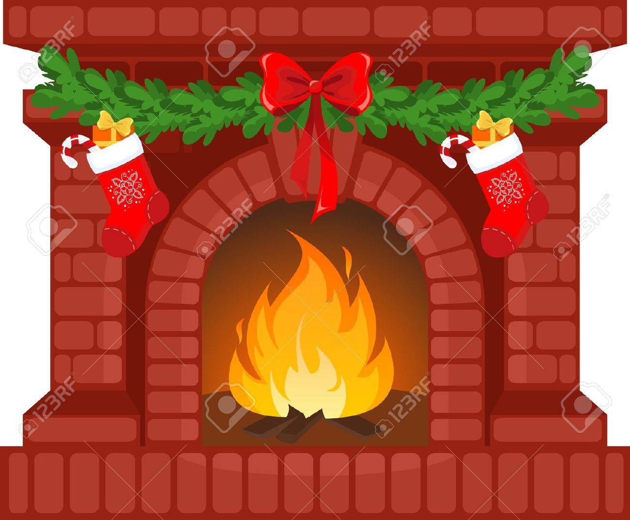 Santa sitting by a campfire clipart download Free Santa Fireplace Cliparts, Download Free Clip Art, Free ... download