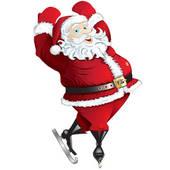 Santa skating clipart graphic stock Santa Skating Clipart & Free Clip Art Images #11136 ... graphic stock