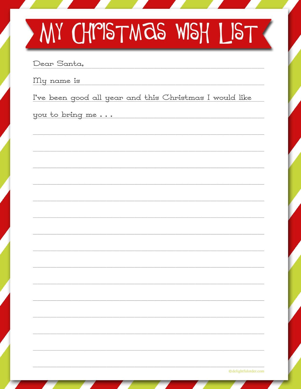 Santa wish list clipart png royalty free download Free christmas wish list clipart - ClipartFox png royalty free download
