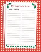 Santa wish list clipart jpg black and white download Wish List Clipart - Clipart Kid jpg black and white download