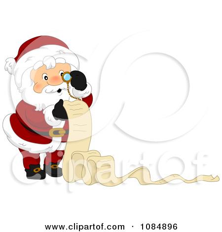 Santas christmas list clipart picture transparent library Royalty-Free (RF) Santas List Clipart, Illustrations, Vector ... picture transparent library