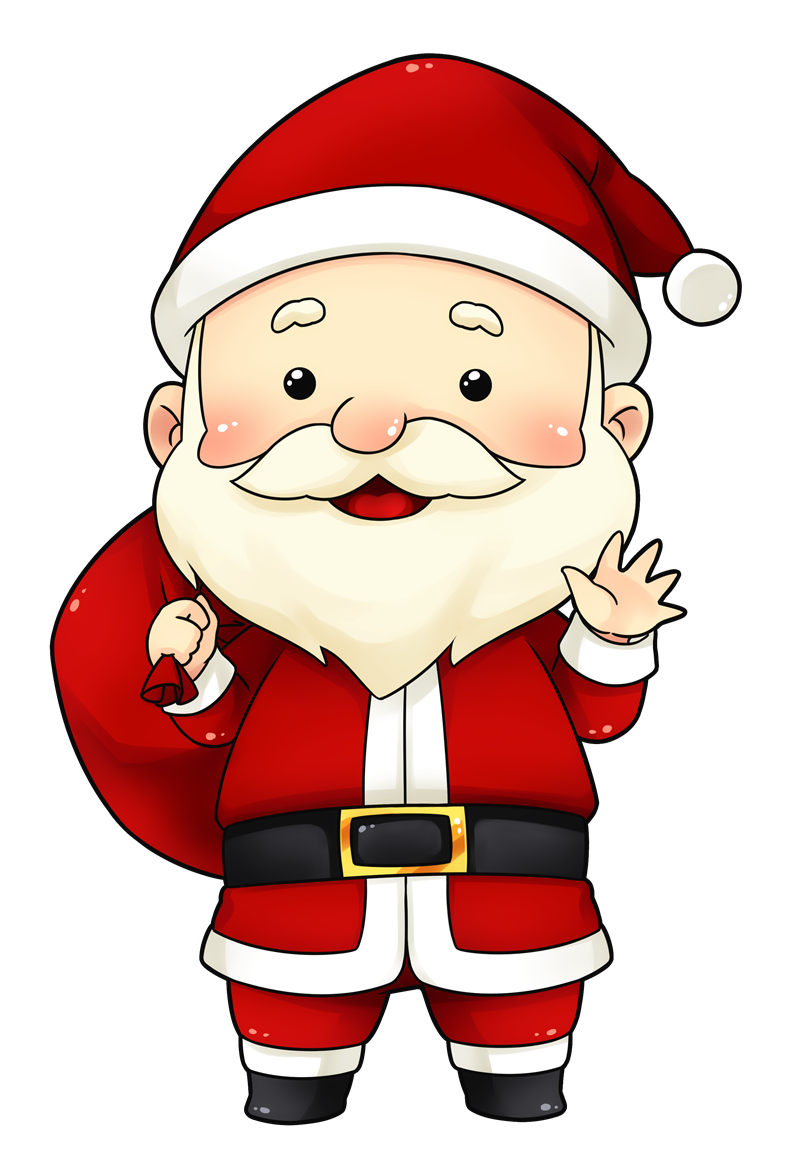 Christmas breakfast clipart jpg transparent download You can use this cute and adorable Santa clip art on whatever ... jpg transparent download