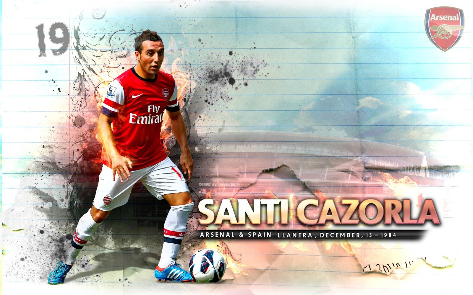 Santi cazorla clipart clip transparent stock Player Football Santi Cazorla High Definition   Wallpapers ... clip transparent stock