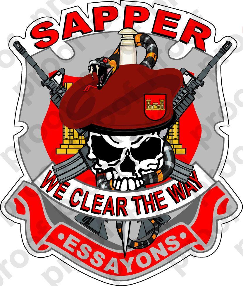 Sapper clipart