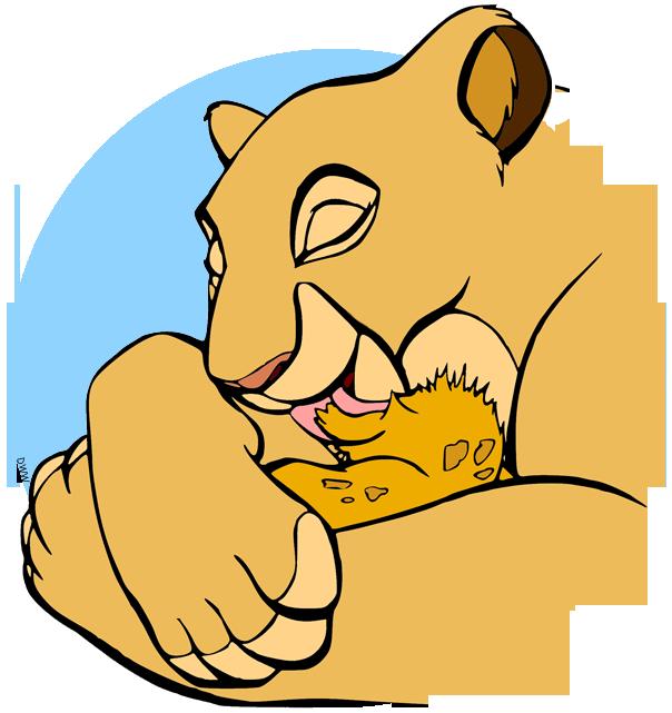 Sarabi clipart graphic freeuse Simba, Mufasa, Sarabi Clip Art | Disney Clip Art Galore graphic freeuse