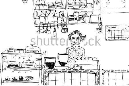 Sari sari store clipart black and white clip freeuse Sari sari store clipart black and white 4 » Clipart Station clip freeuse