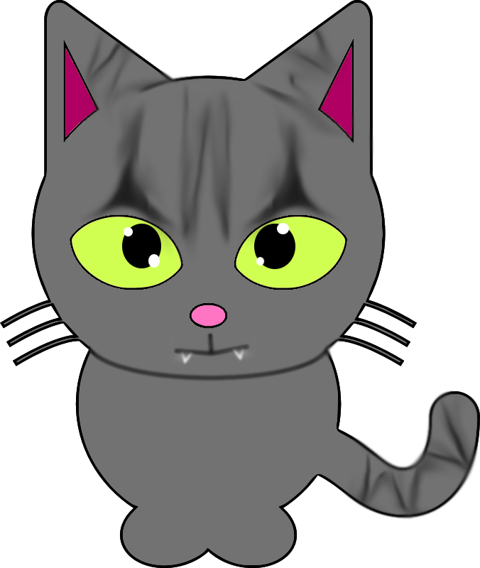 Sassy cat clipart graphic freeuse Sassy Cat by FroggyArtDesigns on DeviantArt graphic freeuse
