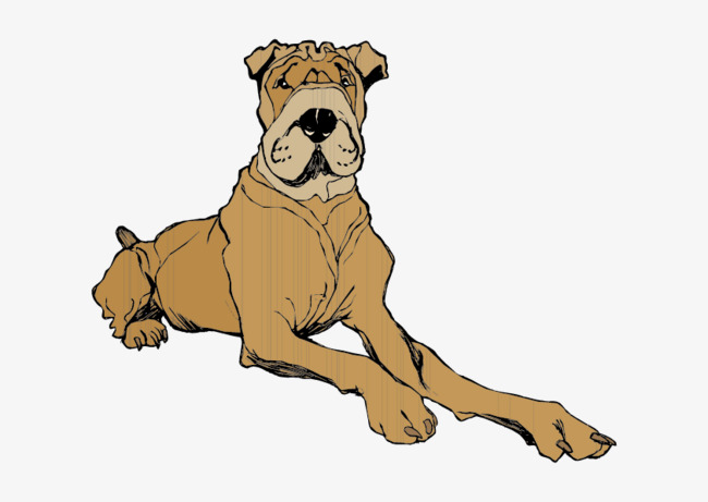 Sat vector clipart clip art transparent library Cartoon Dog Sitting Clipart Sat PNG And Vector For Amazing ... clip art transparent library