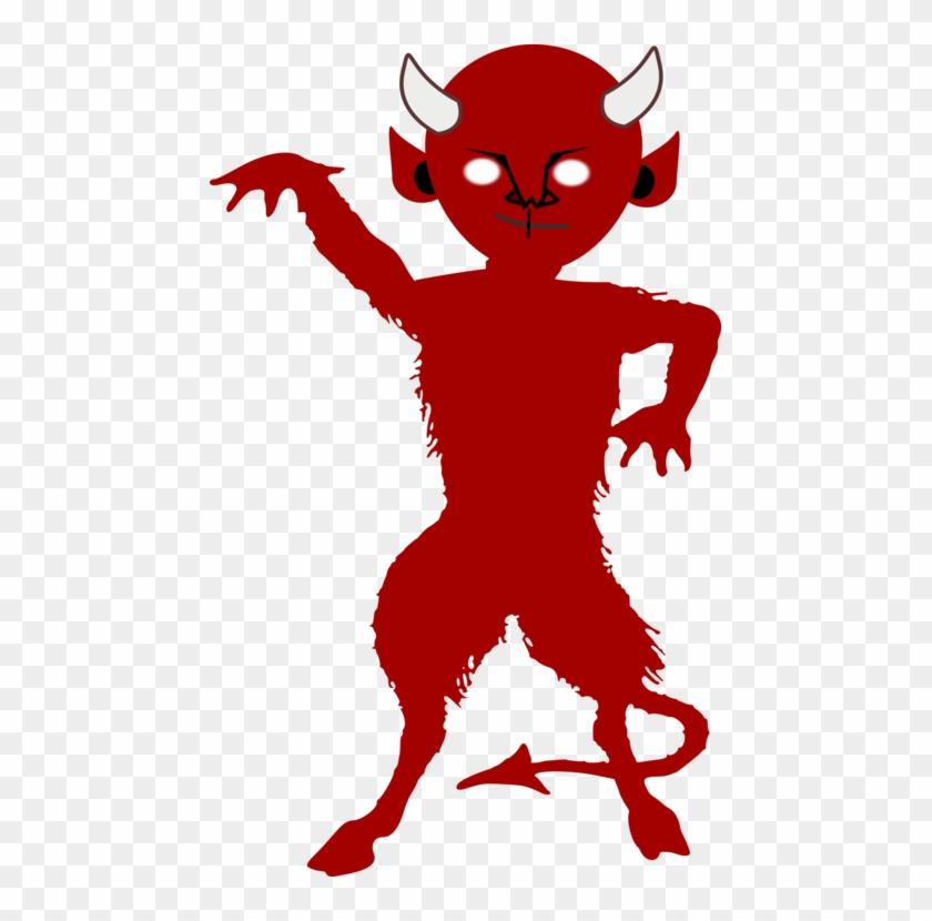 Satan clipart jpg royalty free Lucifer Devil Demon Satan Silhouette - Satan Clipart, HD Png ... jpg royalty free