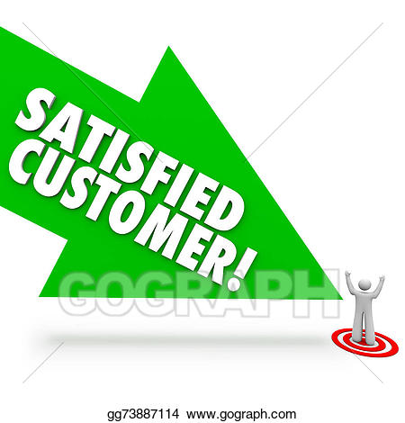 Satisfied customer clipart image library download Clipart - Satisfied customer arrow pointing happy client ... image library download