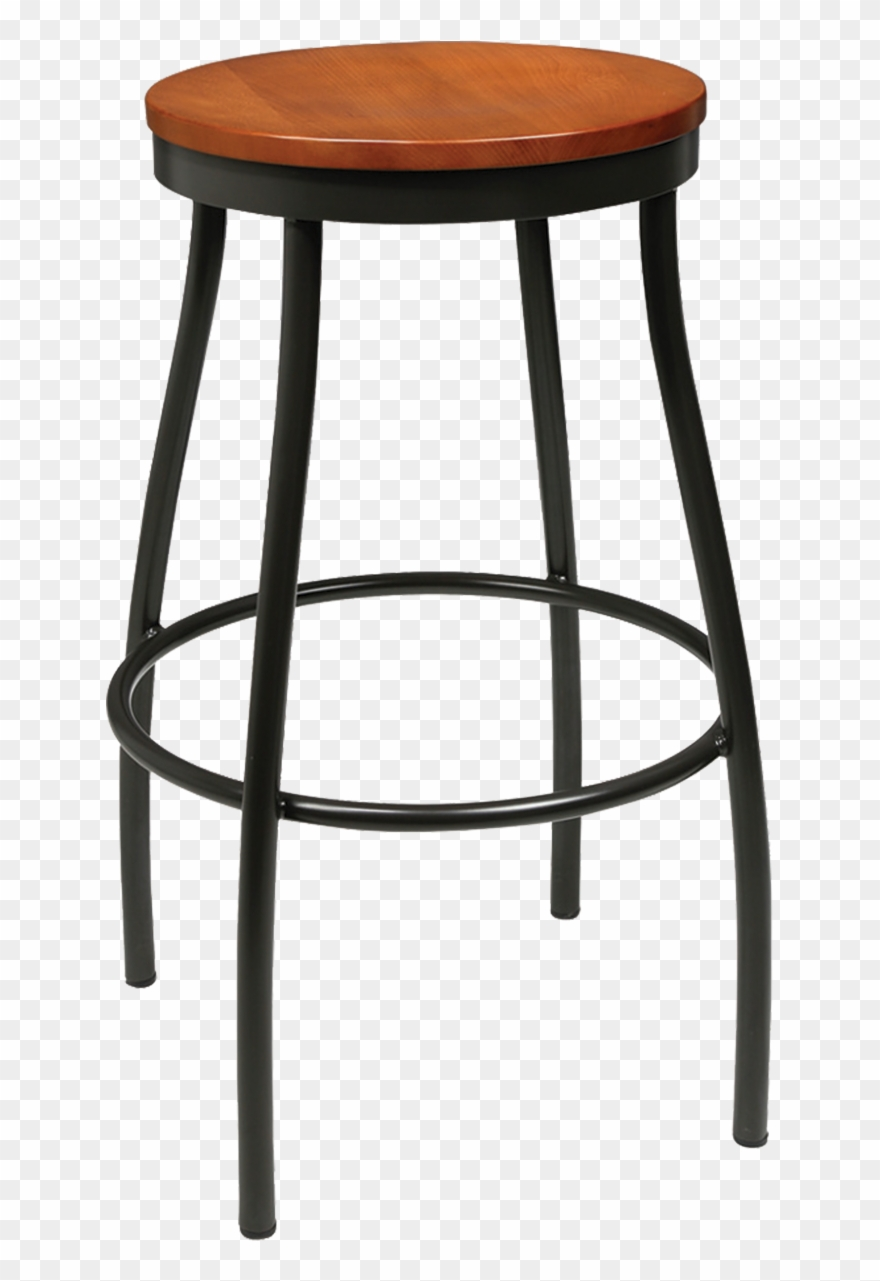 Satools clipart jpg black and white stock Backless Bar Stools - Metal Lab Stool Clipart (#1930862 ... jpg black and white stock
