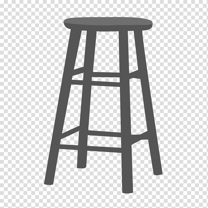 Satools clipart image black and white Bar stool Feces , stool transparent background PNG clipart ... image black and white