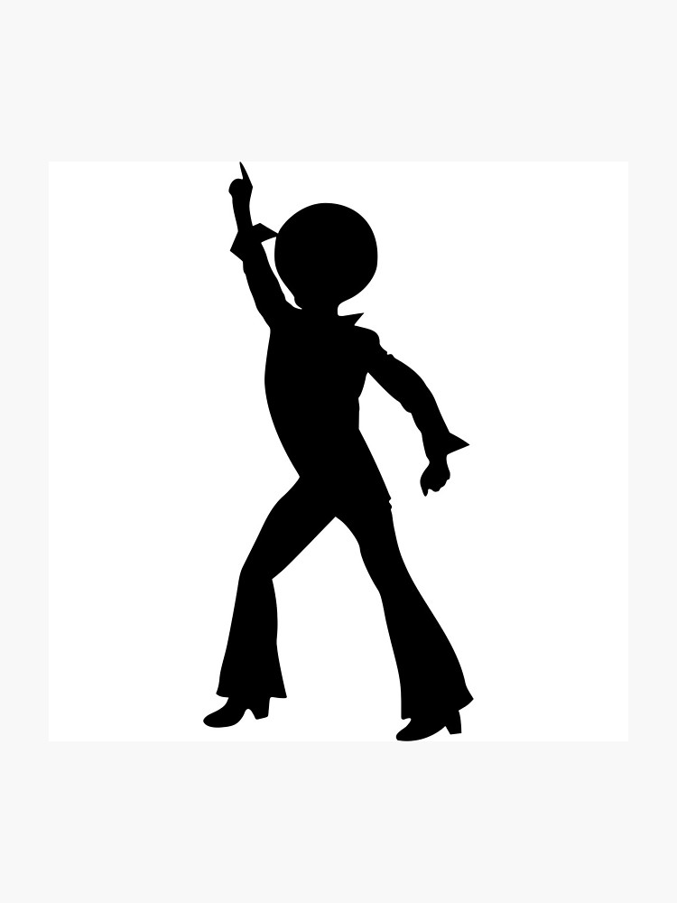 Saturday night fever clipart png free library disco point john travolta saturday night fever dance | Photographic Print png free library