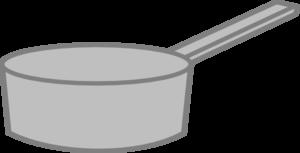 Saucepan clipart png black and white stock Saucepan Clip Art at Clker.com - vector clip art online ... png black and white stock
