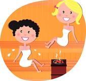 Sauna cliparts kostenlos jpg free stock Sauna Clip Art - Royalty Free - GoGraph jpg free stock