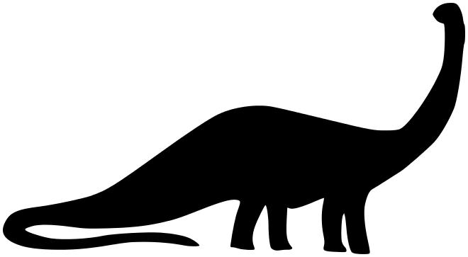 Sauropod clipart png transparent sauropod silhouette   Silouhettes   Dinosaur silhouette ... png transparent