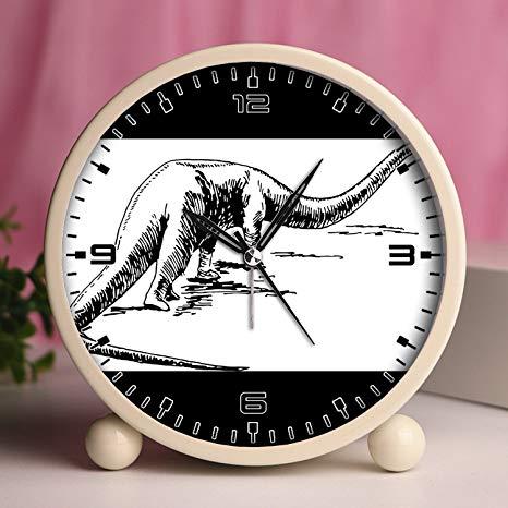 Sauropod clipart jpg royalty free library Alarm Clock, Bedroom Tabletop Retro Portable Clocks with ... jpg royalty free library