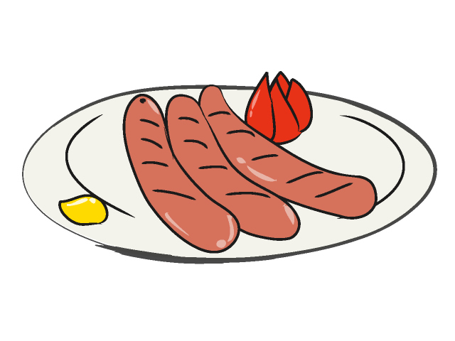 Sausages clipart picture library Free Sausage Cliparts, Download Free Clip Art, Free Clip Art ... picture library