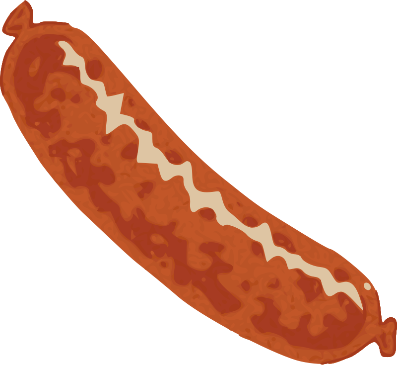 Sausages clipart royalty free library Free Clipart: Sausage | mcol royalty free library