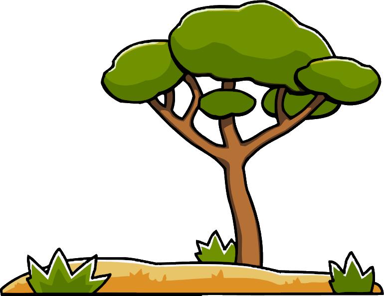 Savanna tree clipart graphic freeuse library Savanna | Scribblenauts Wiki | FANDOM powered by Wikia graphic freeuse library