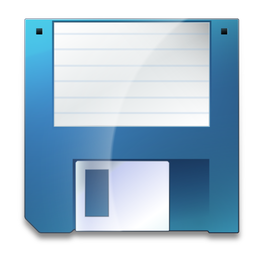 Save black and white library Open Source Software & Usability: The save icon needs an update black and white library