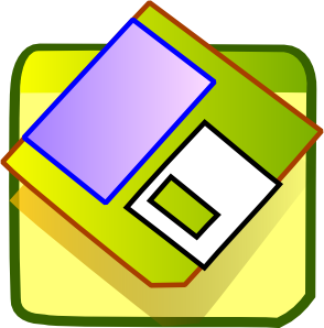 Save as clipart image library library Floppy Disk Save Icon Clip Art at Clker.com - vector clip art ... image library library