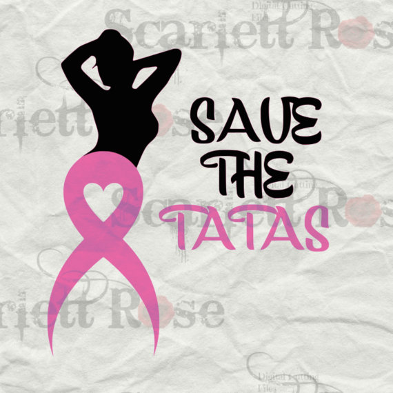 Save clipart as jpeg image free Save The Tatas Breast Cancer Awareness Set SVG by ScarlettRoseSVG image free