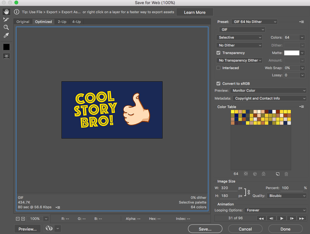 Photoshop export clipart sequence royalty free library Making Animated GIFs From After Effects Comps royalty free library