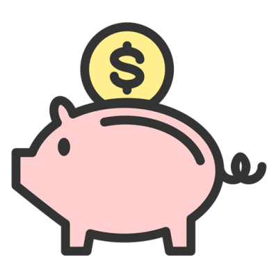 Save clipart with transparent background image black and white download Piggy Bank PNG Images Transparent Background | PNG Play image black and white download