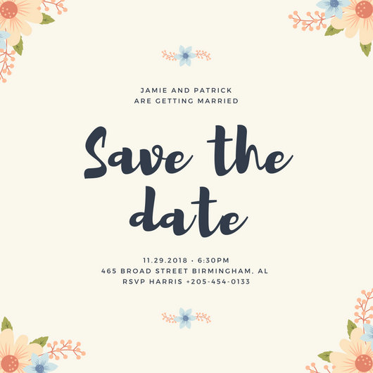 Save desktop clipart layout transparent library Save The Date Invitation Templates - Canva transparent library