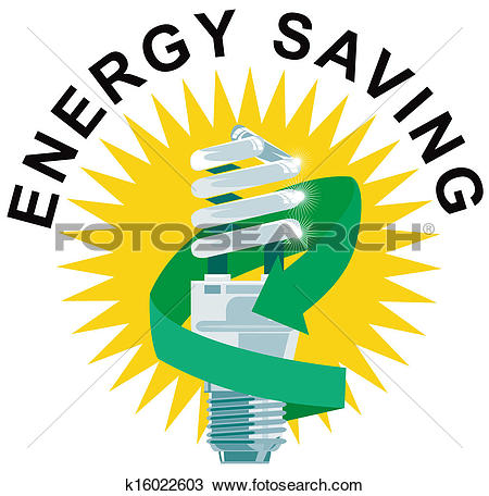 Save energy clipart jpg royalty free stock Clipart of Energy Saving Label Lightbulb k16022901 - Search Clip ... jpg royalty free stock