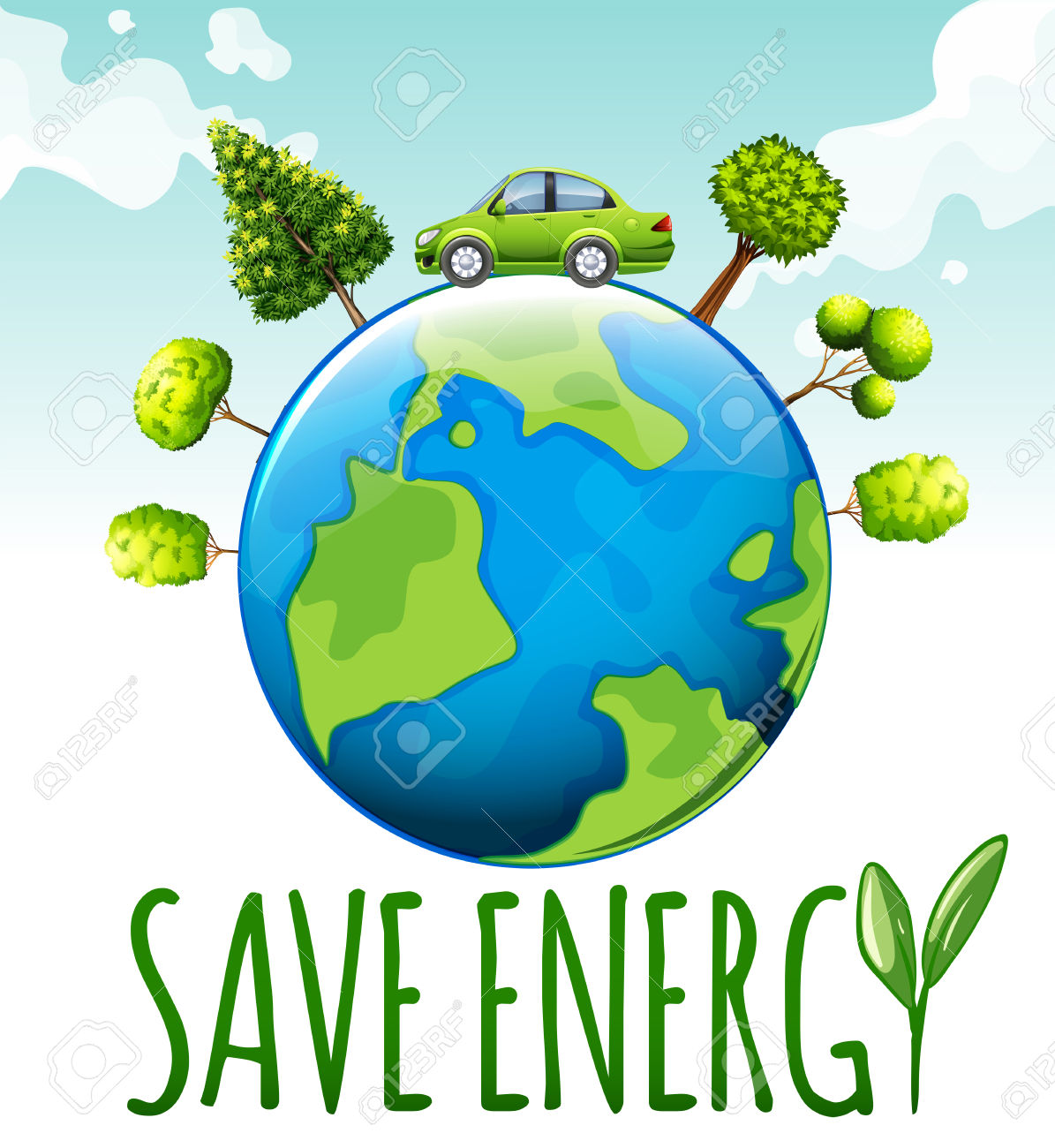 Save energy save environment clipart free Save energy clipart - ClipartFest free