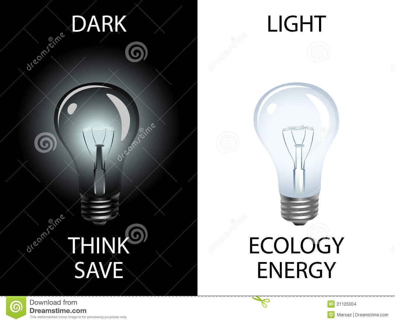 Save energy save environment clipart vector black and white library Save Energy And Preserve Environment Stock Images - Image: 21125004 vector black and white library