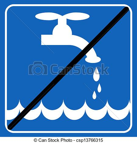 Save environment clipart graphic transparent library Vector Clip Art of save the water blue sign; save the environment ... graphic transparent library