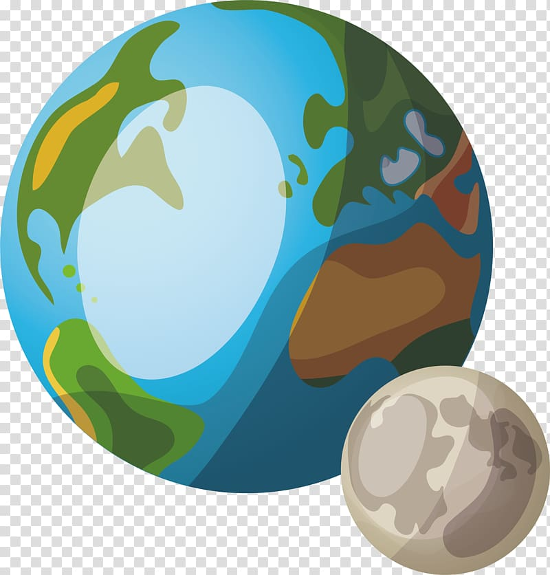 Save our planet border clipart vector transparent Two planet illustration, Earth Cartoon Planet, two planets ... vector transparent