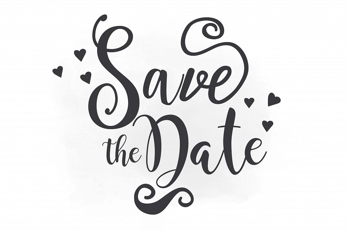 Save the date clipart picture free library Save The Date Png & Free Save The Date.png Transparent ... picture free library