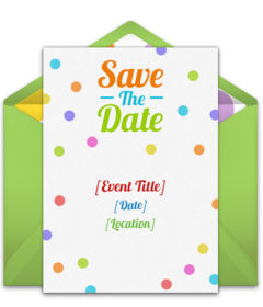 Save the date clipart new years themed clip art transparent download Free Birthday Save the Dates Online | Punchbowl clip art transparent download